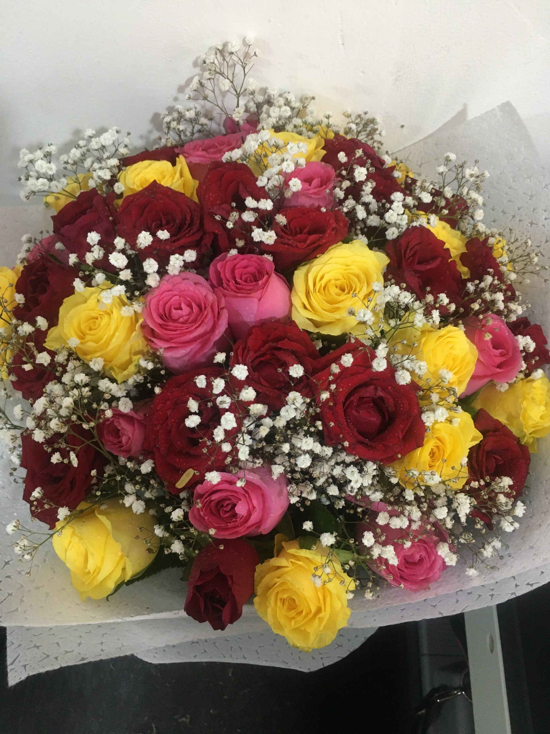 Mixed roses Boquet