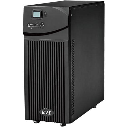 EVI POWER 3KVA/2.7KW RACK MOUNT ONLINE UPS 2 YEAR WARRANTY ( 1YEAR ON BATTERY) WITH IN PUT PLUG WITH