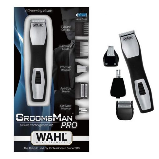1582711071 510x510 - WAHL 9855-1227 Groomsman Pro All -In- One Battery Hair Trimmer
