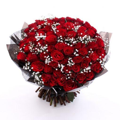 0 floric valentine 100 roses large 510x510 - Balloon bouquet