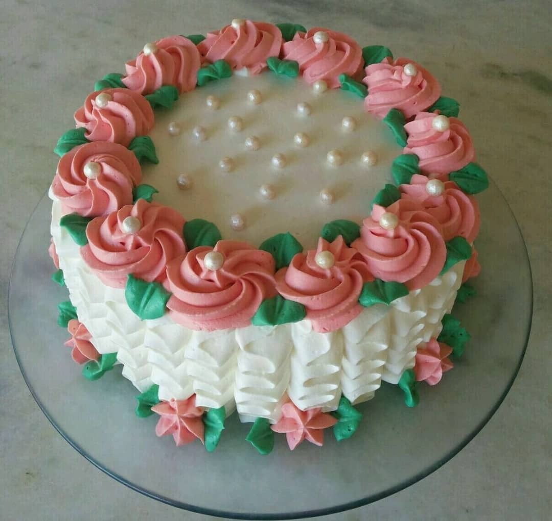 Round Marble With Icing