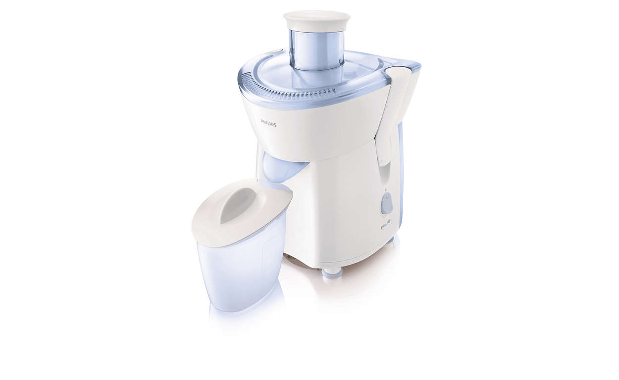 Philips Daily Collection Juicer HR1823/70 220 W 1 speed White/blue
