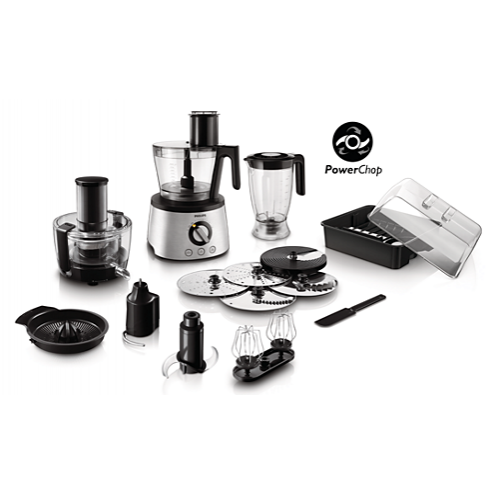 Philips Food Processor 1000W Advanced 30 Plus Function Blender Jar 1.5 Liters HR7778