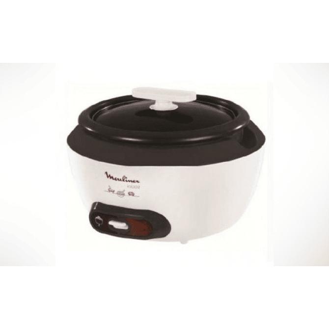 Moulinex Rice Cooker 1.8Litre Incio – White (MK156127)