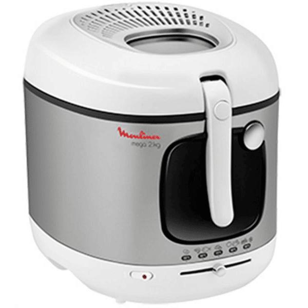Moulinex Deep Fryer Mega 2Kg – Silver (AM480027)