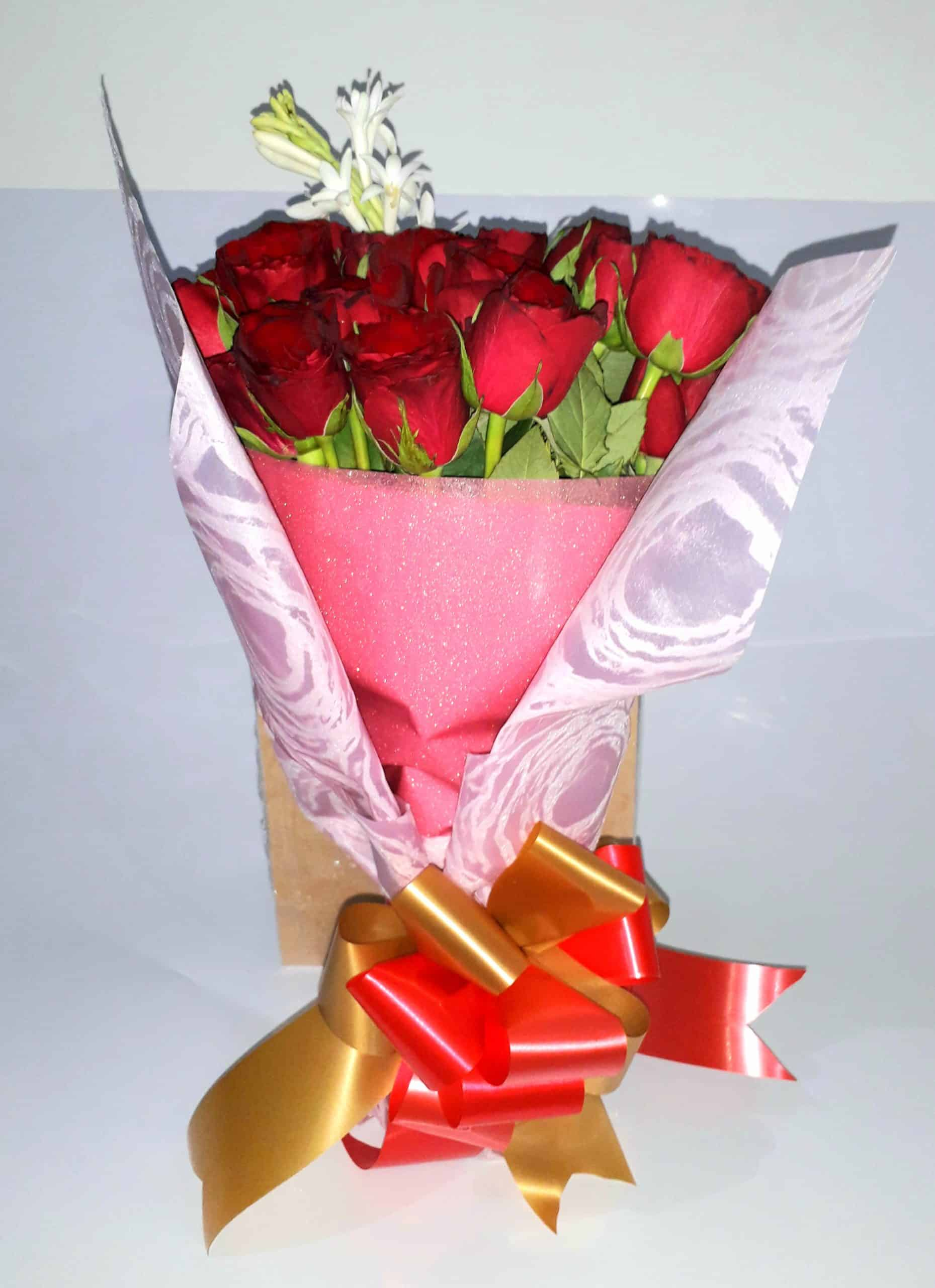 Exclusive Red Rose Bouquet