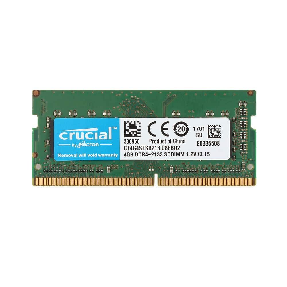 CRUCIAL 4GB DDR4 LAPTOP RAM