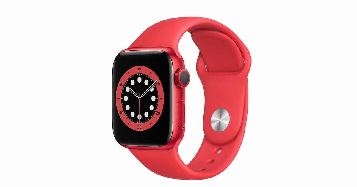 Apple watch S6 40mm – Blue Red