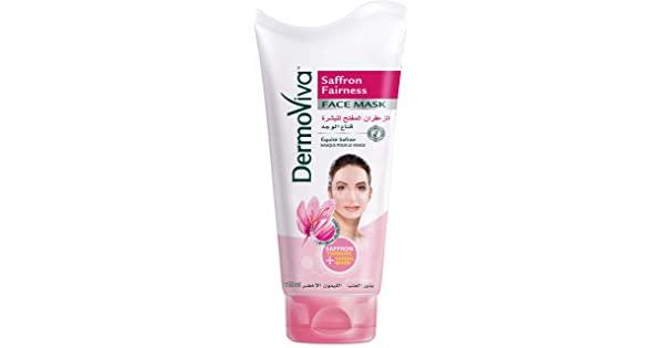 71BfaAtWPML. SR600315 SCLZZZZZZZ  - Dermoviva Face Mask -  Saffron Fairness - 150 x 24