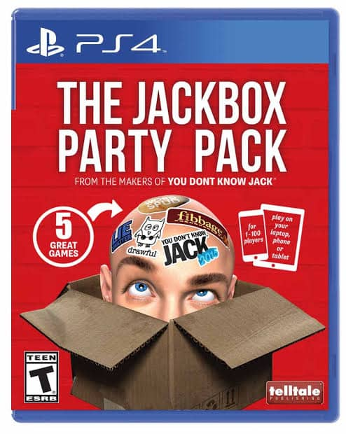 The Jackbox Party Pack Ps4 Cd