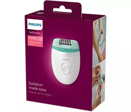 Philips Epilator 0.5 mm from root Washable head BRE224