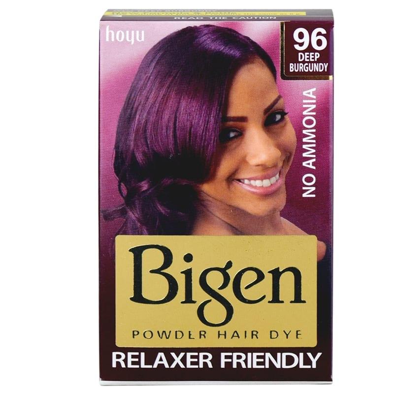 Bigen 96 Hair Dye – DEEP BURGUNDY (G) 6g x 12