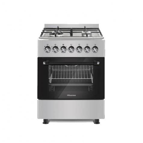 Hisense Cooking Range 60cm 4 Gas Electric Stove SS HFS604GES