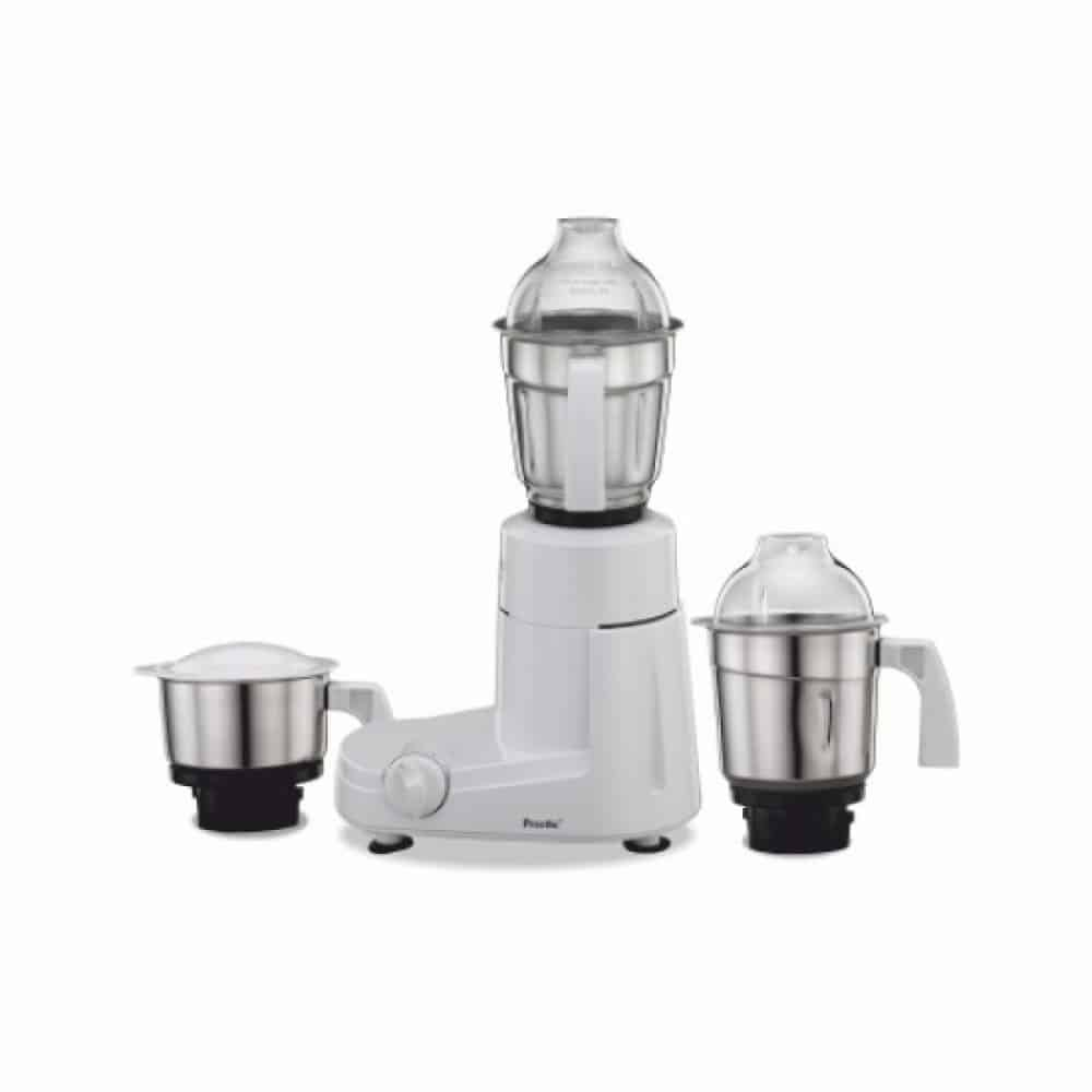 PREETHI MIXER GRINDER 600W 1.5L STAINLESS STEEL JAR AND OVER LOAD PROTECTOR MG155