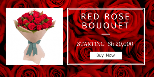 RED ROSE BOUQUET 510x255 - Gold bowl with a lead - Design 2