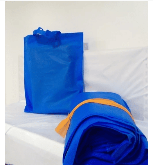 Non Woven Loop Handle Bags 50pcs