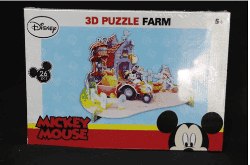 Mickey Mouse 3D Puzzle Farm