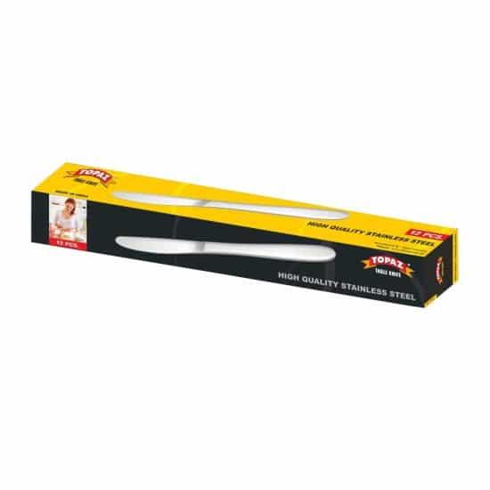 TOPAZ TABLE KNIFE 12PCS