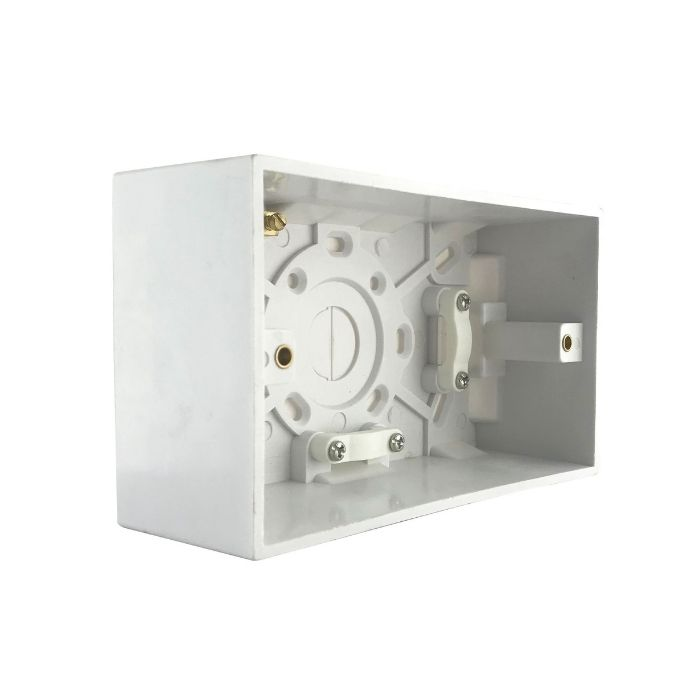 Box PVC 3X6 Deep 47MM Tronic TR 2810-47