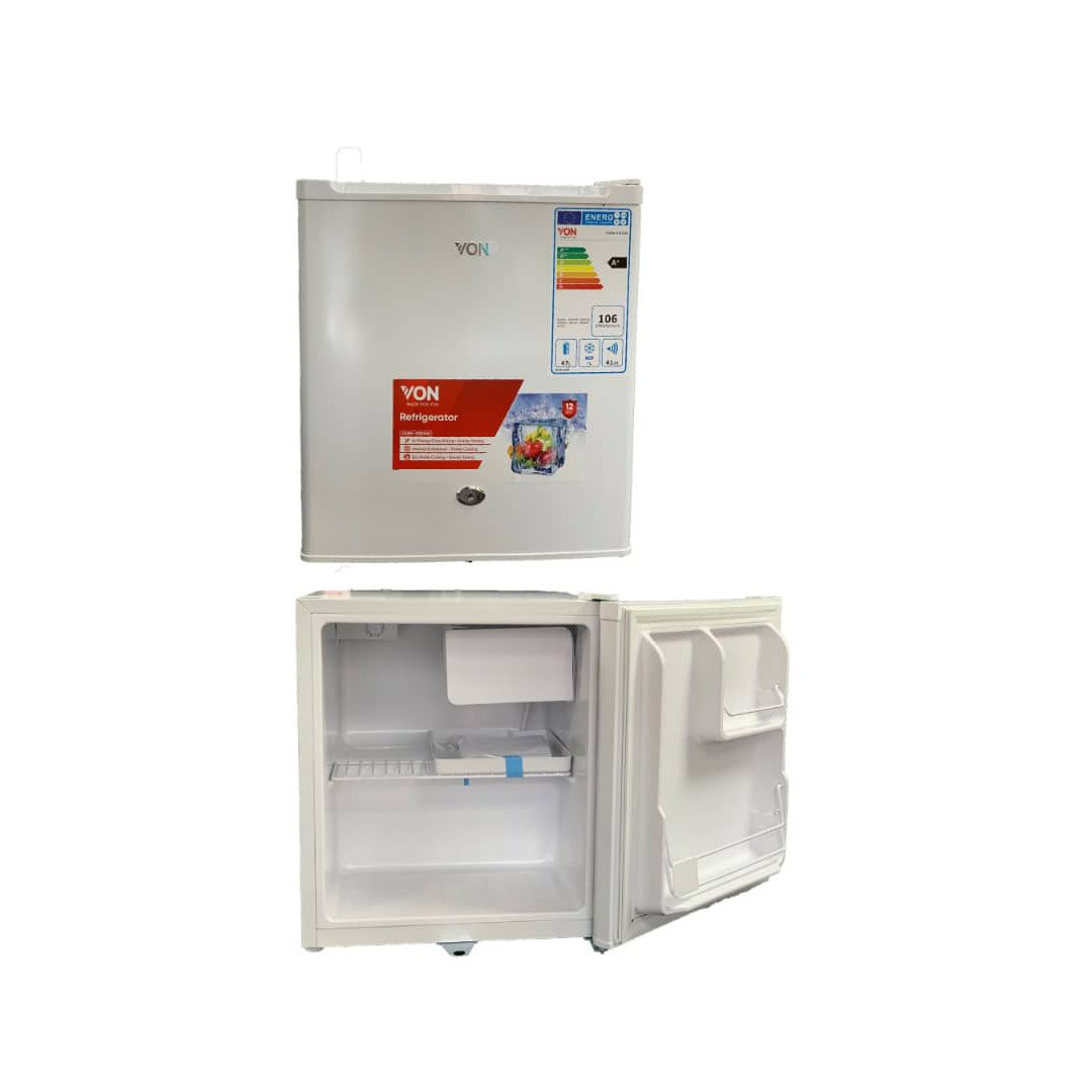 VON Refrigerator Single Door 47L – VARM 05DHW