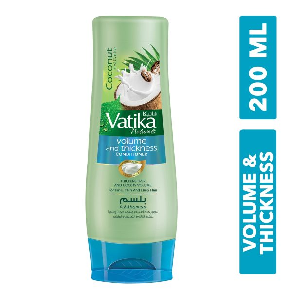 Vatika Volume Thickness Conditioner 200ml 789764 01 600x600 - Vatika Conditioner - Volume & Thickness-200ml-24
