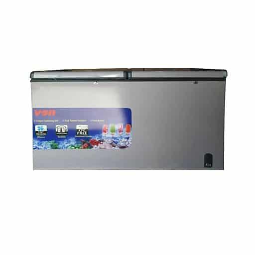 Von VAFC50DAS Chest Freezer, 500Lts, 12 doors