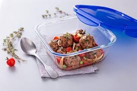 download 16 2 - PYREX COOK & GO ROUND DISH WITH LID 19CM 288PG00/7046