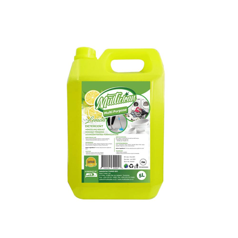 Multipurpose Detergent Lemon 5L