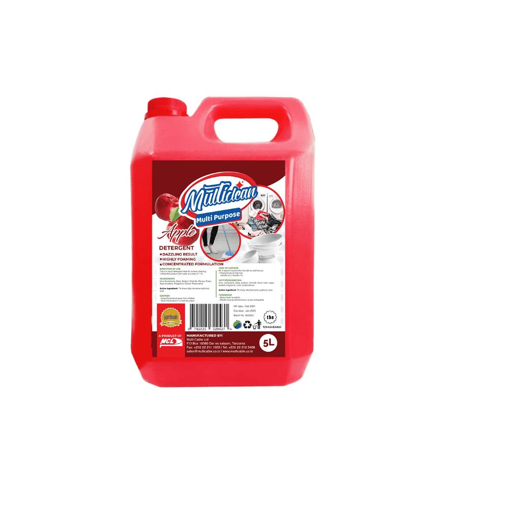 Multipurpose Detergent Apple 5L