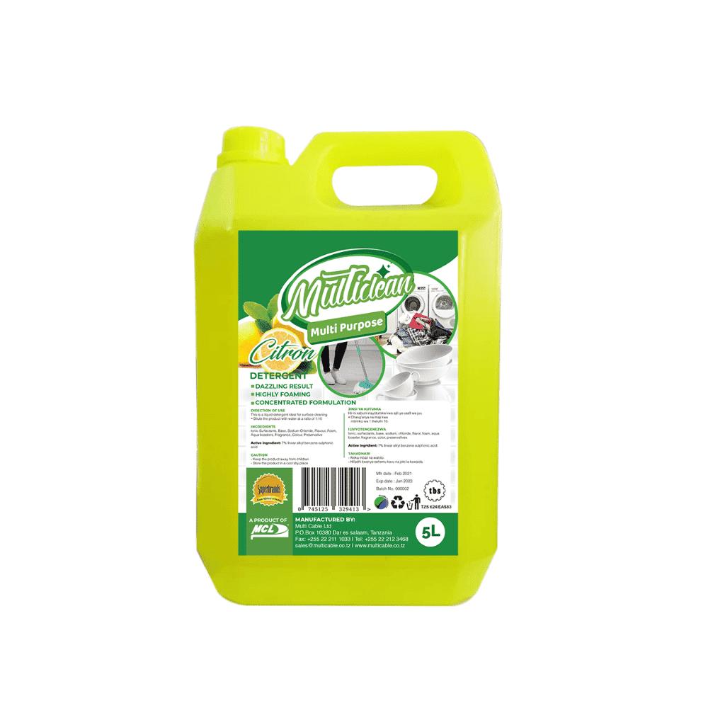 Multipurpose Detergent Citron 5L