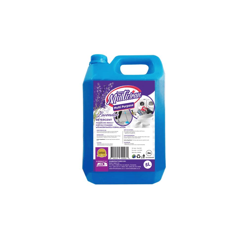 Multipurpose Detergent Lavender 5L