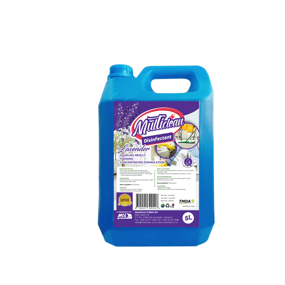 MULTISURFACE DISINFECTANT 5L -Lavender