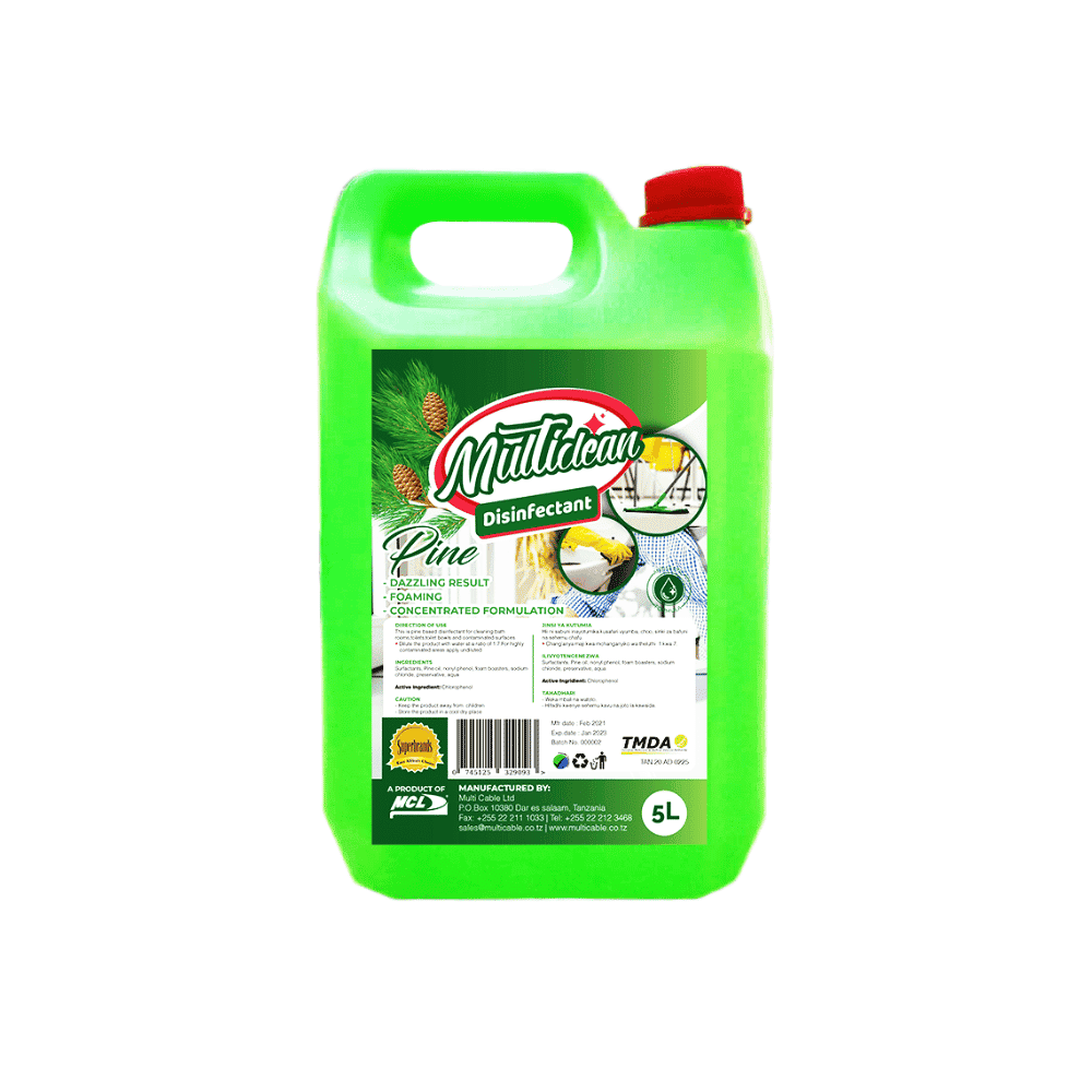 MULTISURFACE DISINFECTANT 5L -Pine