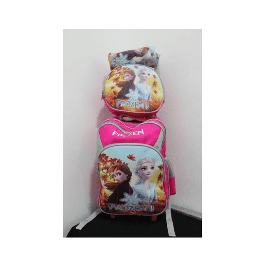 Frozen II School Bag With Trolly