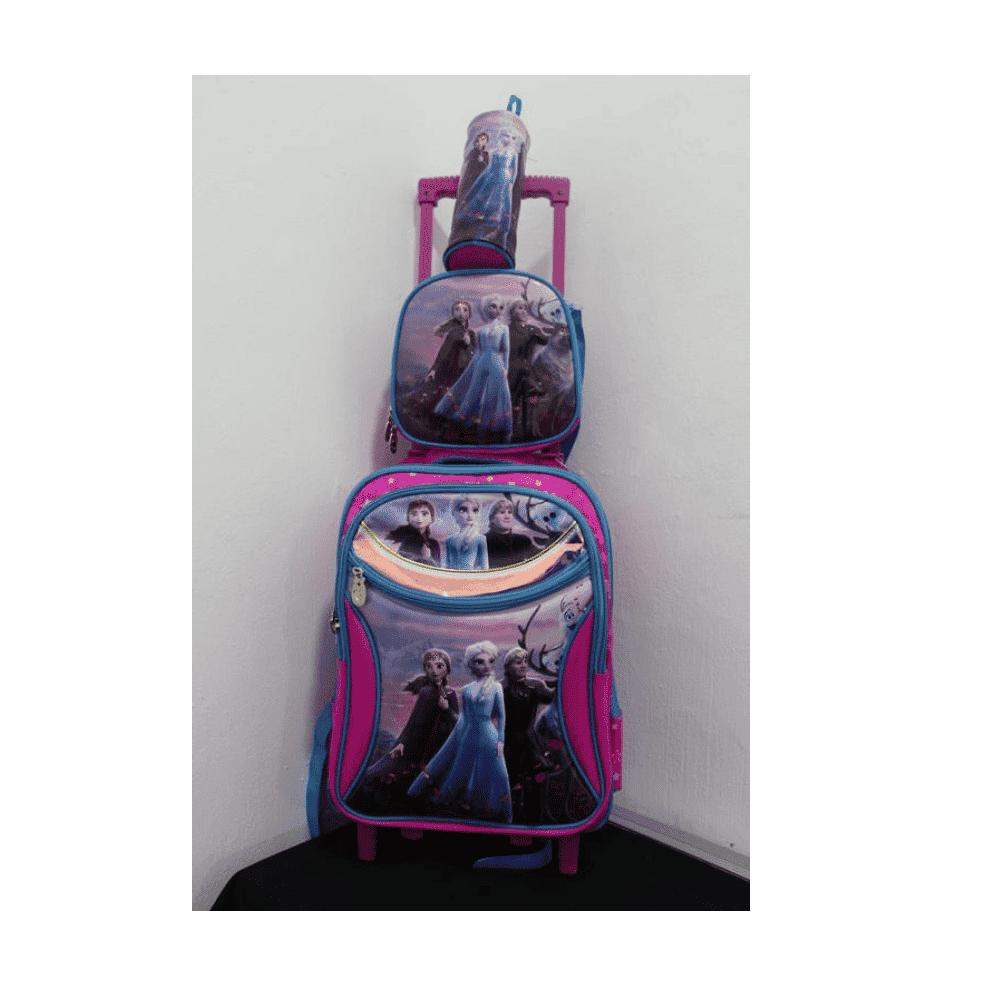Frozen School Bag With Trolly
