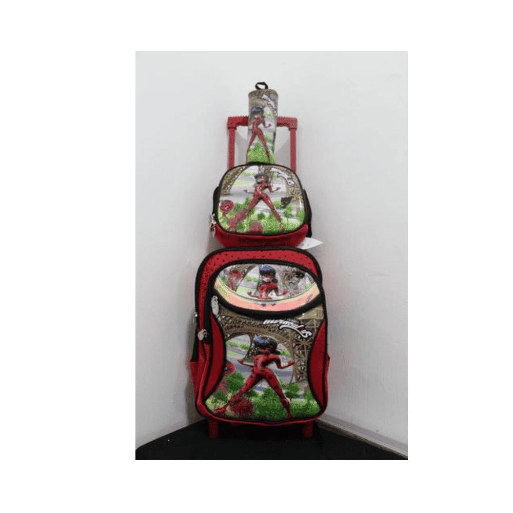 Mireculus School Bag With Trolley