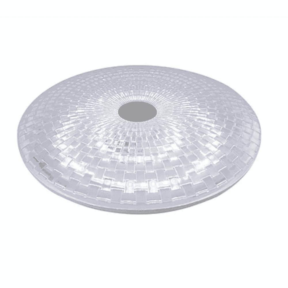 Tronic Bulkhead Ceiling Light LED 2X24W KD 1921-WH