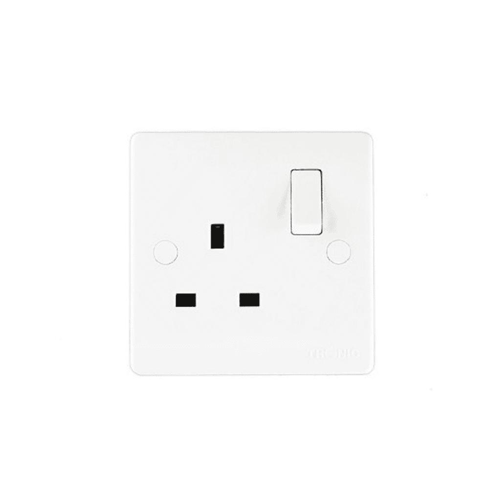 Tronic 13A Switch Socket Single TR5113