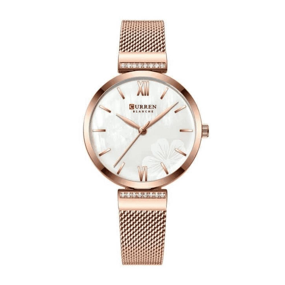 Curren Gold Wristwatch Women Watches Top Brand Luxury