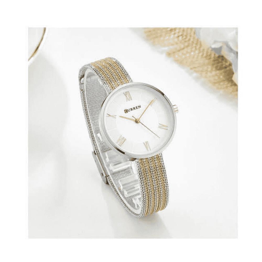 Curren Watch Women Casual Fashion Quartz Wristwatches