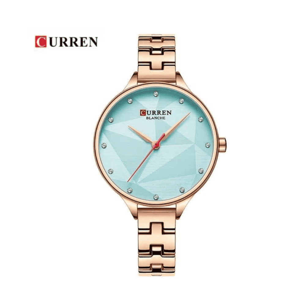 Curren Stainless Steel Watch for Women – Gold