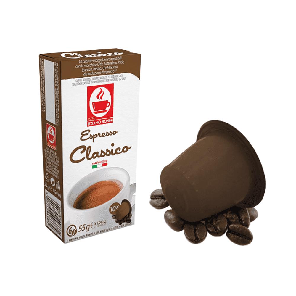 Tiziano Bonini Nespresso Compatible Capsules – Classico