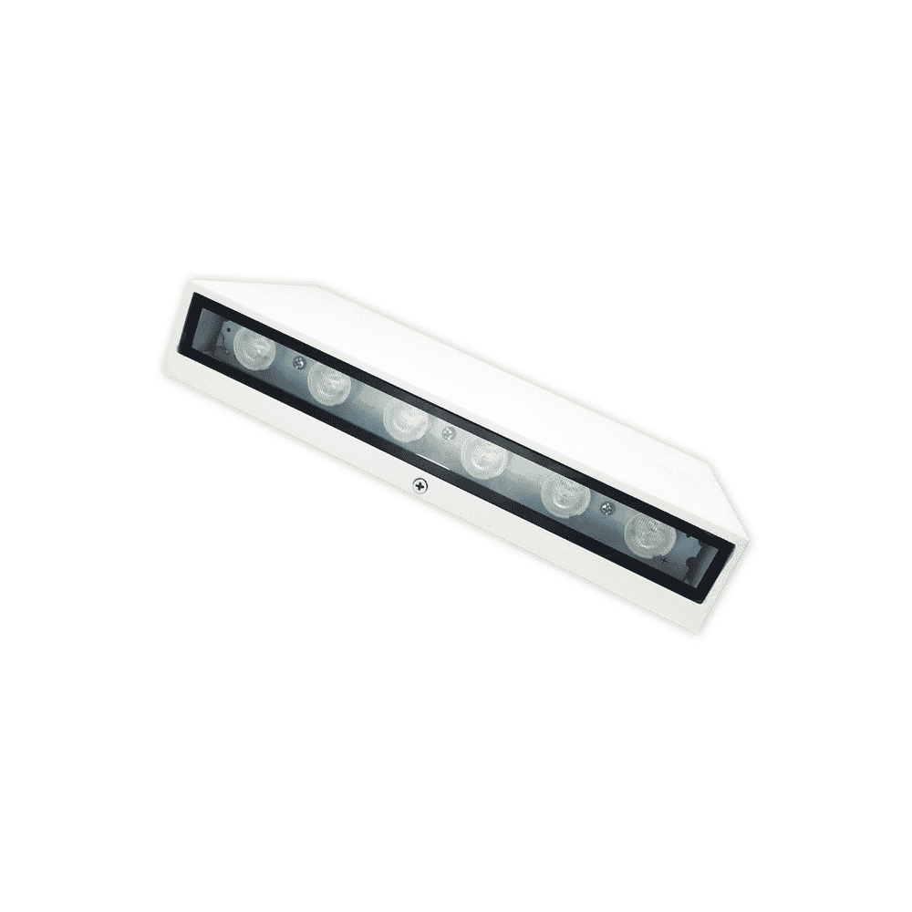 Tronic Bulkhead Fitting LED 1020 White LL 1020-WH