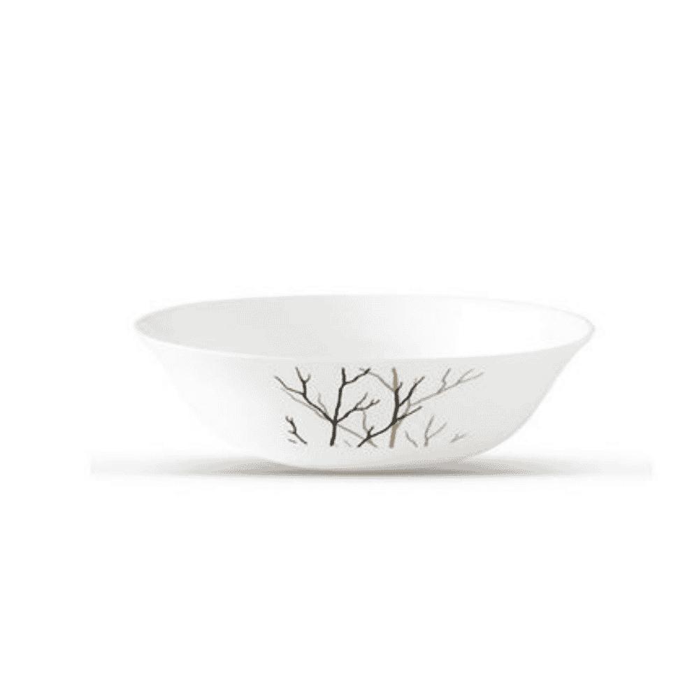 La Opala Bowl Multipurpose Bowl Flowered Golden Fall Ivory 170mm 0915