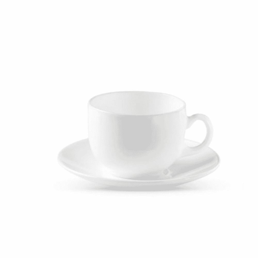 La Opala Cup Saucer 6pcs Set White 0943