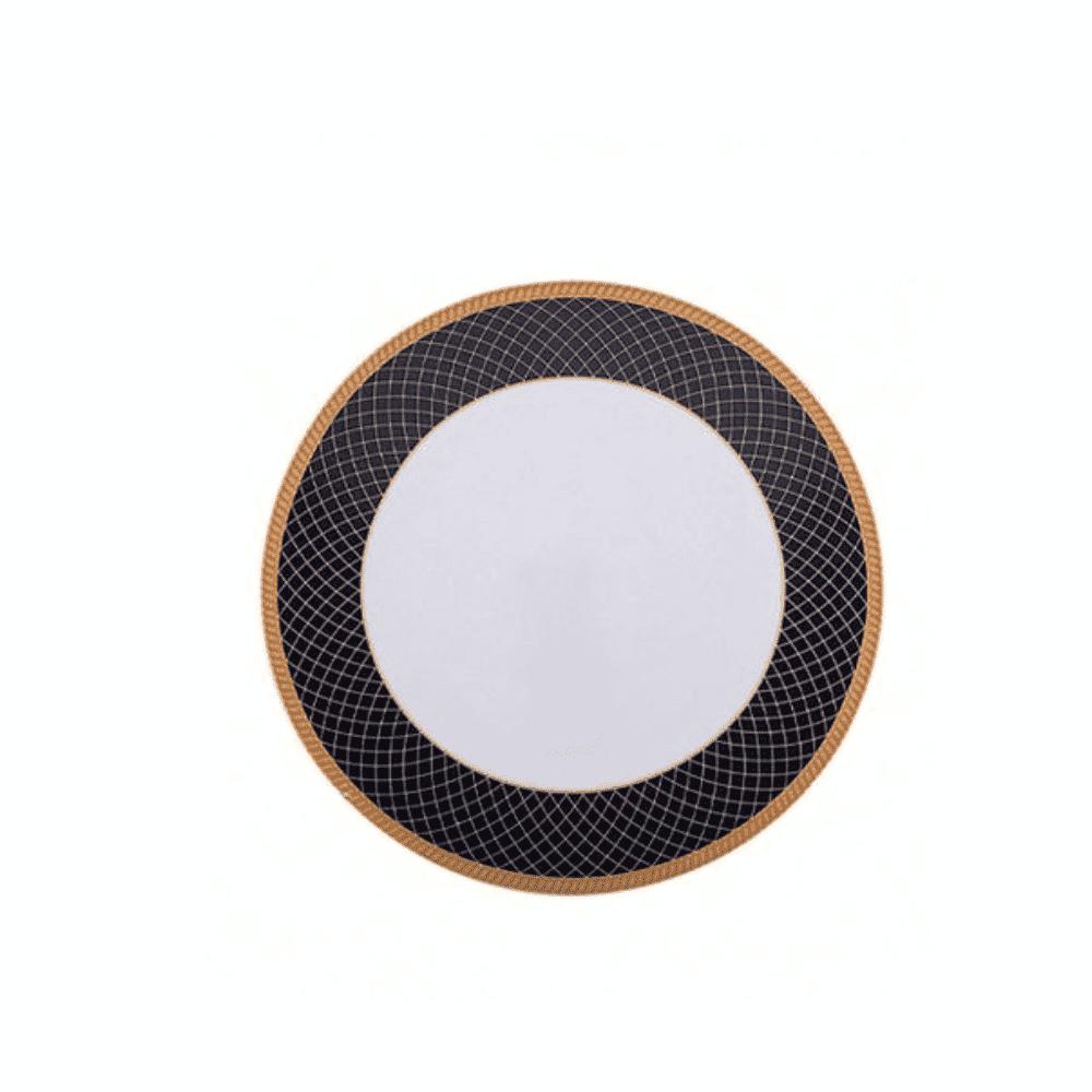 La Opala Dinner Plate 6pcs Flowered Regent Blue 277mm 0500