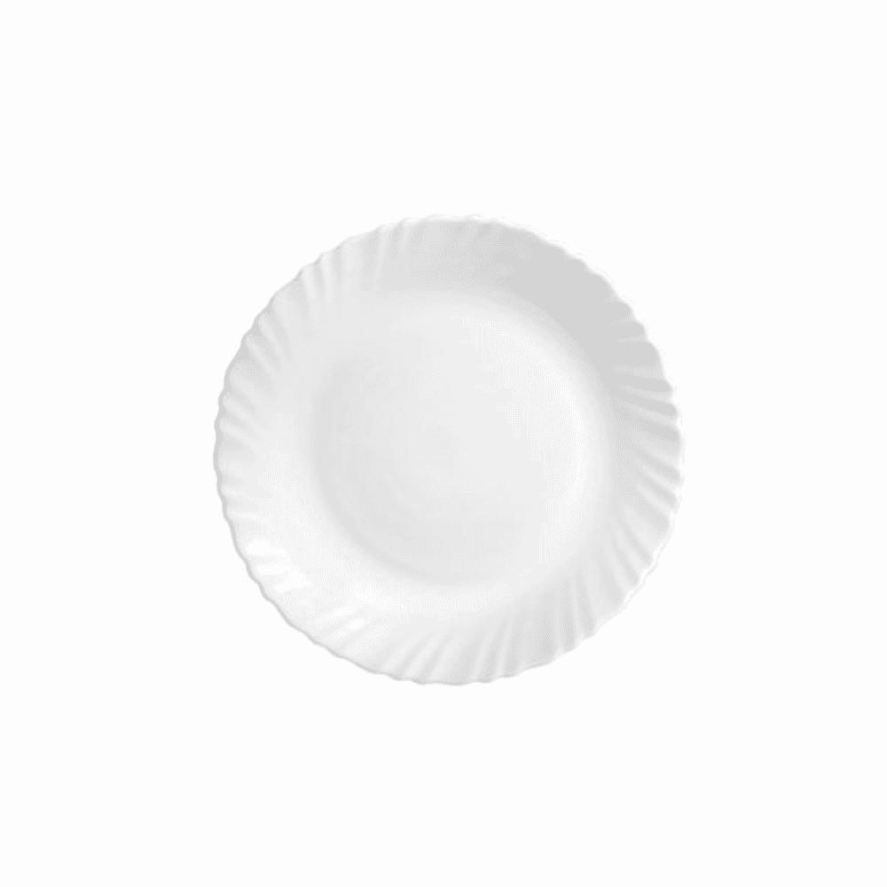 La Opala Dinner Plate 6pcs White 10″ 0221