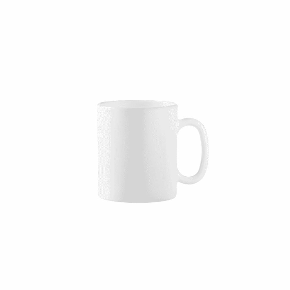 La Opala Mug 6pcs White 32cl 0942