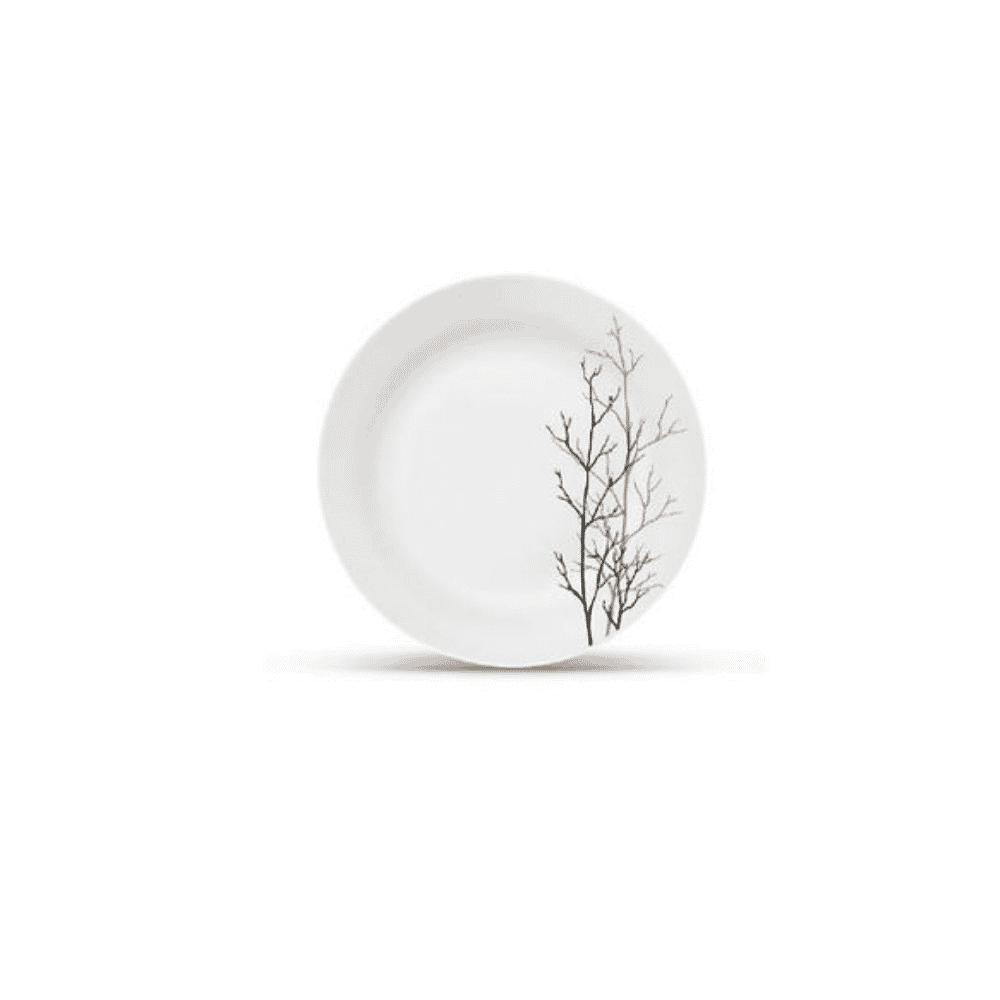 La Opala Side Plate 6pcs Flowered Golden Fall Ivory 190mm 0911