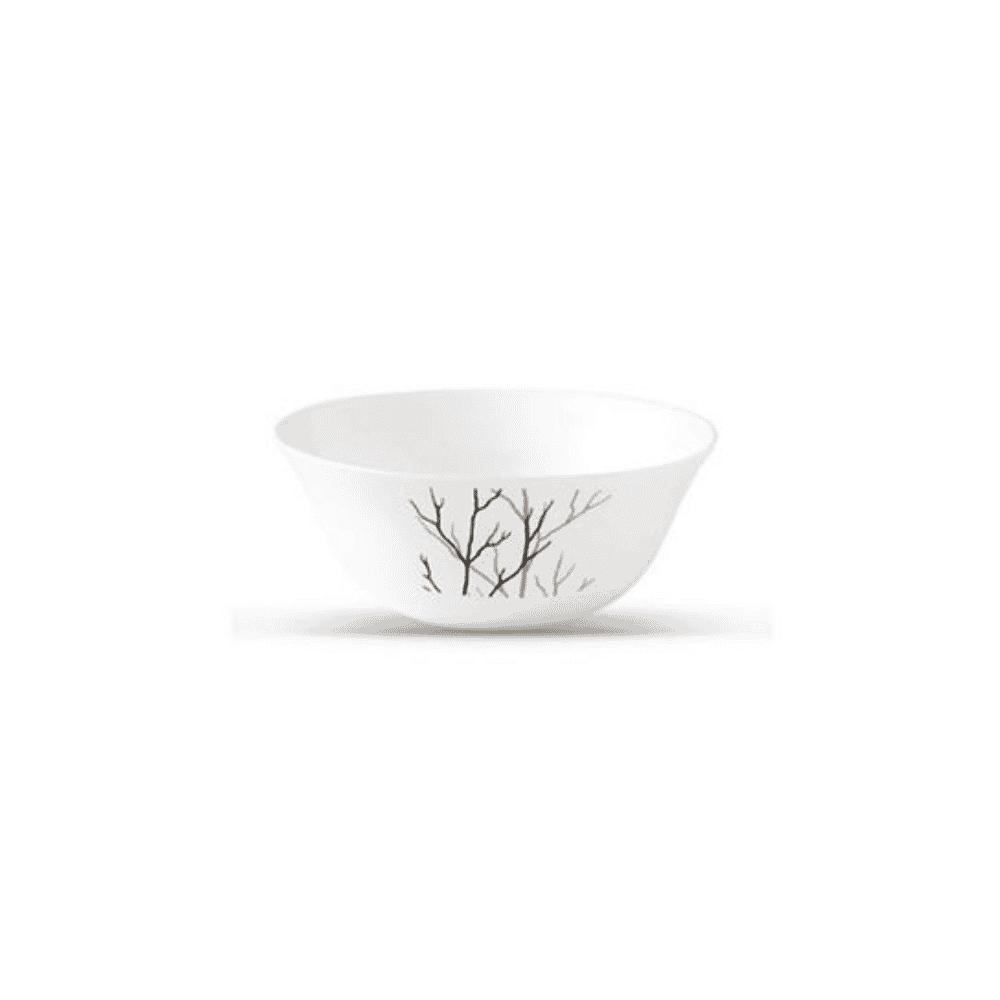 La Opala Soup Bowl 1pc Flowered Golden Fall Ivory 120mm 0914